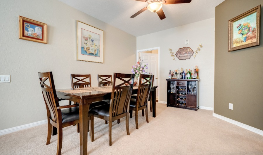 8324 Charleston Blvd #2042 | Perfect sized Dinning Room Area